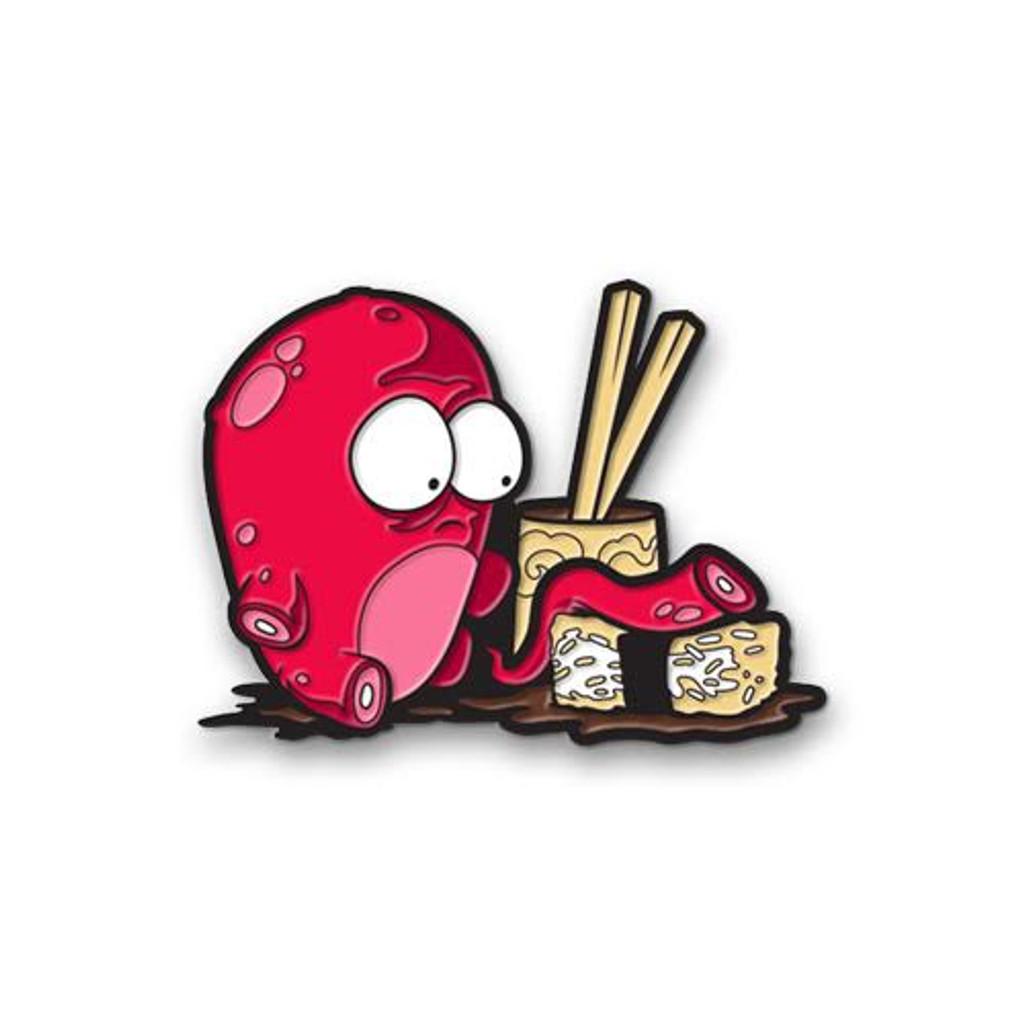 O-No Sushi Enamel Pin