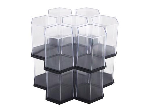 Display Case Hexagon - 3 Pack