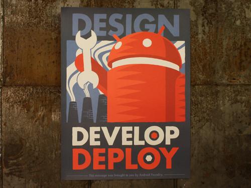 Design Develop Deploy Print