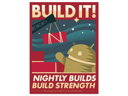 Android Foundry Progress Print Set 2