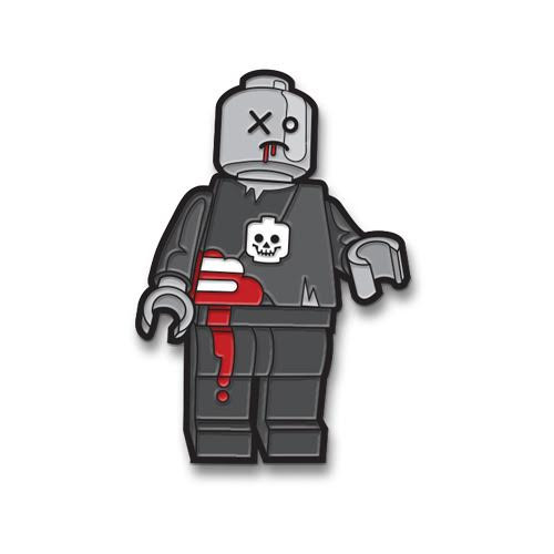Block of the Dead Enamel Pin