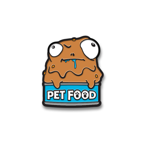 Pet Food Enamel Pin
