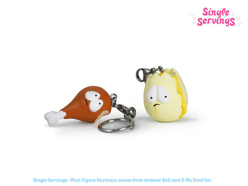 O-No Single Serving keychains