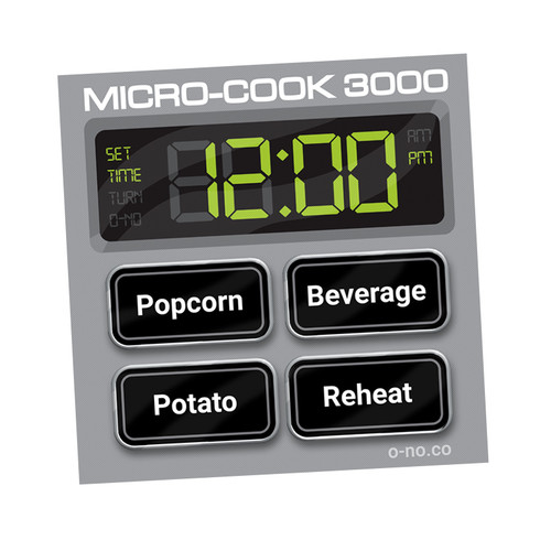 O-No Microwave Pin Set