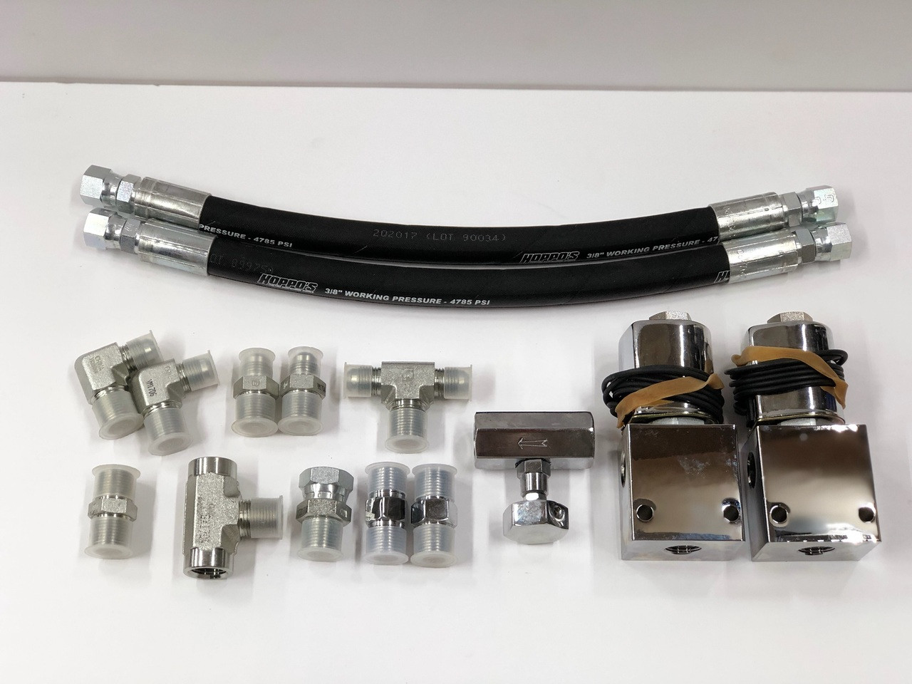 Double Dump Kit w/ Fittings & Hoses