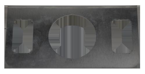 Dual Air Toggle w/ Gauge