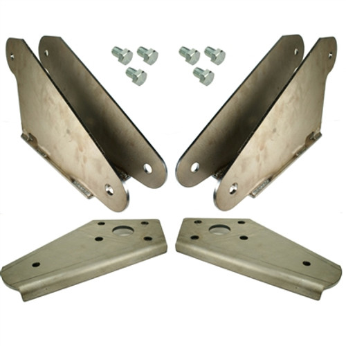 55-57 Chevy Bolt-On Rear Bracket Kit