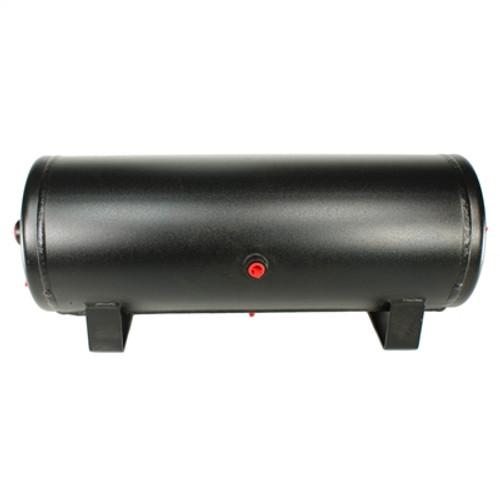3 Gallon Black Steel Tank