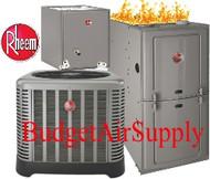 Rheem Gas Furnace Split Systems