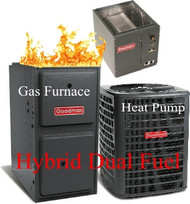 DUAL FUEL Systems( Hybrid HEAT PUMP+FURNACE+A/C)