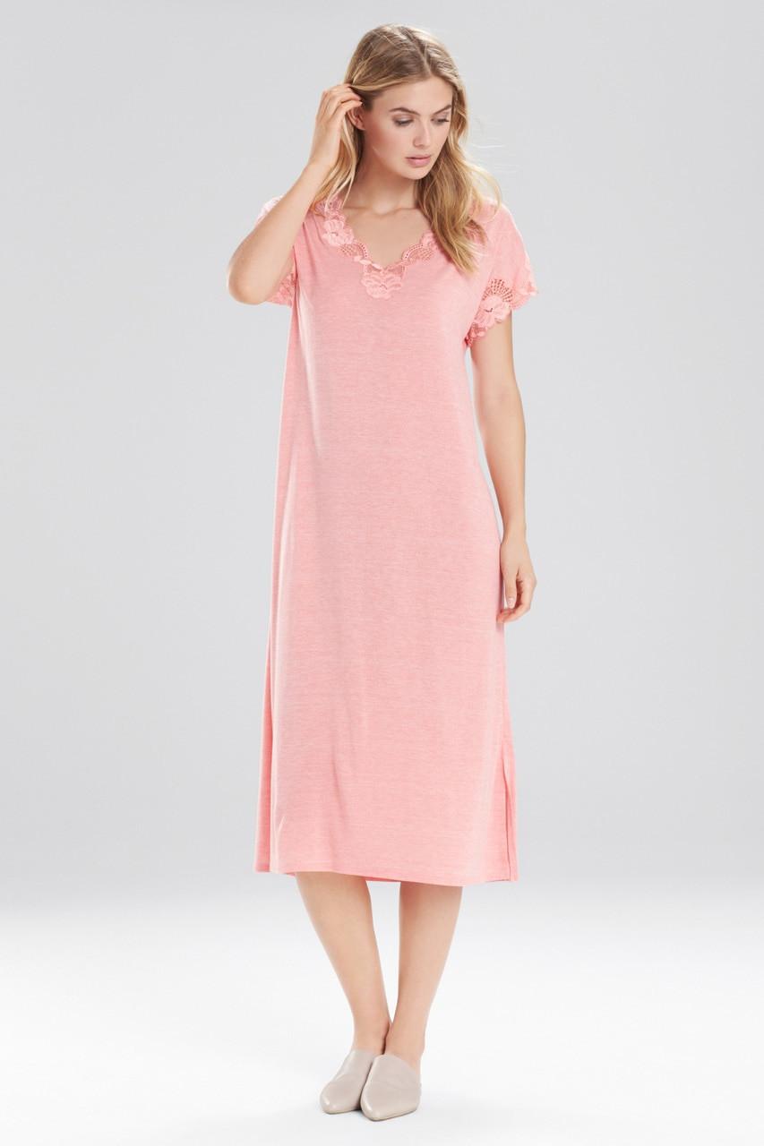 Buy Natori Zen Floral T-Shirt Gown from Natori at The Natori Company