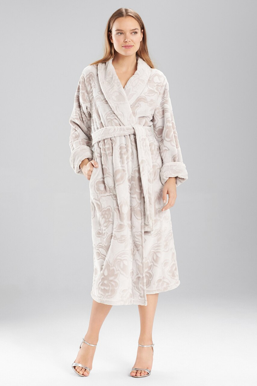 Natori Plush Damask Robe - The Natori Company