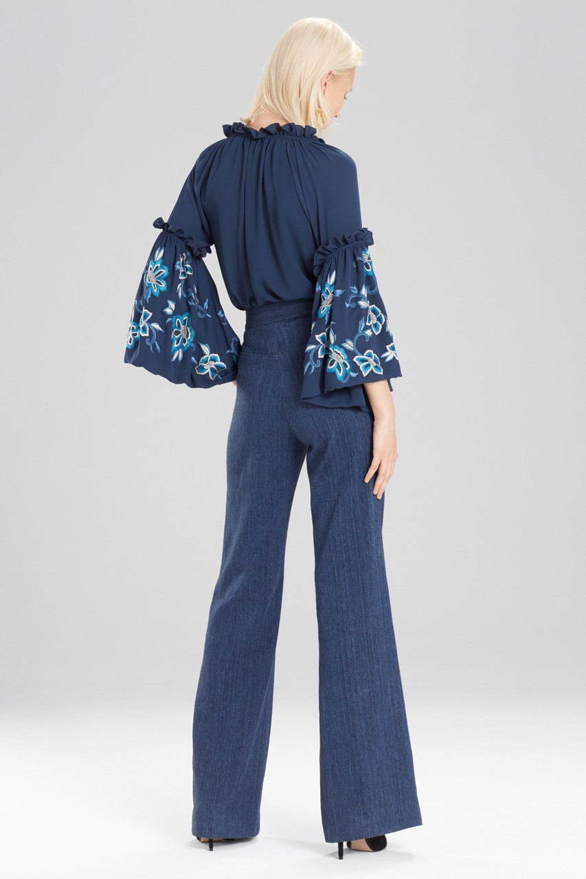 Discount Online Low Shipping Fee For Sale Josie Natori high-waisted palazzo pants Pj3GeBL7