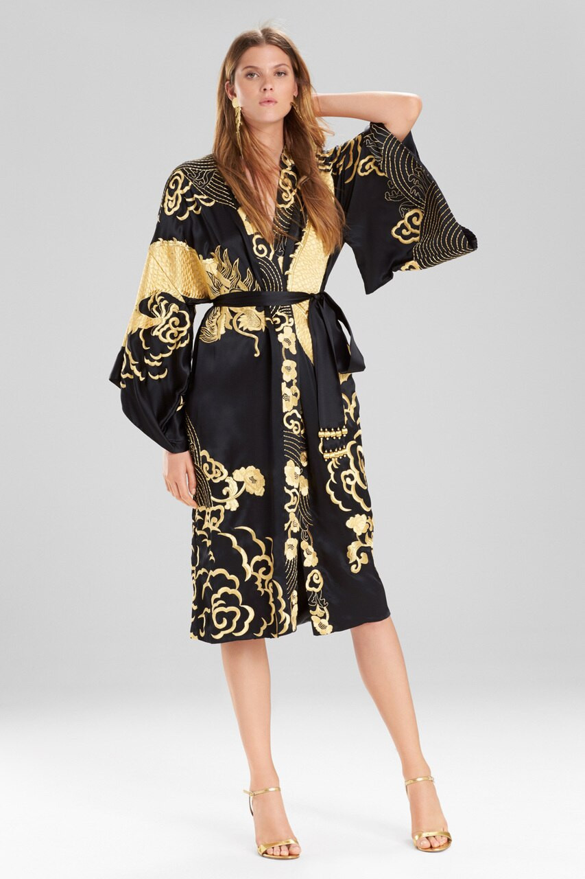 Josie Natori Couture Dragon Robe
