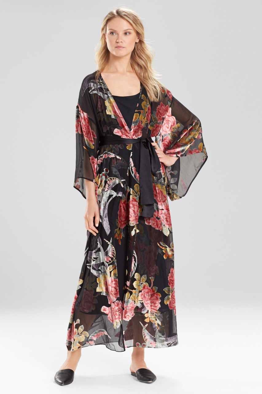 Natori Velvet Burnout Robe