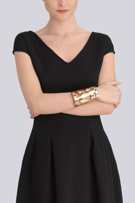 Josie Natori Geometric Gold Cuff at The Natori Company