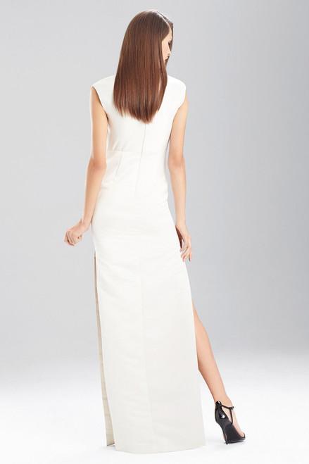 Duchess Satin Boatneck Dress at The Natori Company