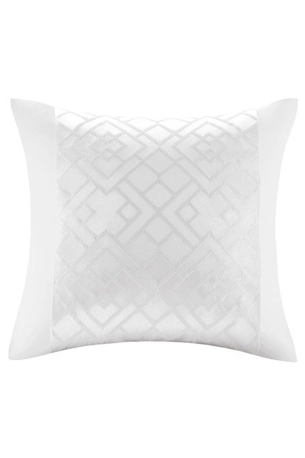 Buy Natori Tsuba Geo Fretwork Square Pillow from