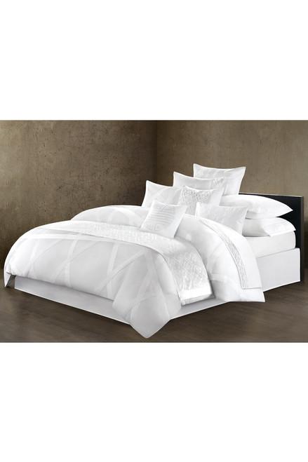 Natori Tsuba Geo Fretwork Square Pillow at The Natori Company