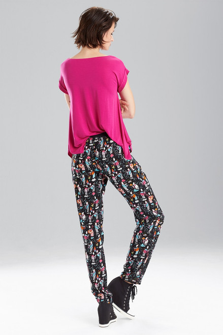 Tea Party Pants at The Natori Company