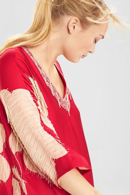 Josie Natori Couture Blossom Caftan at The Natori Company