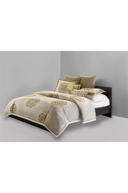 N Natori Medallion Duvet Mini Set at The Natori Company