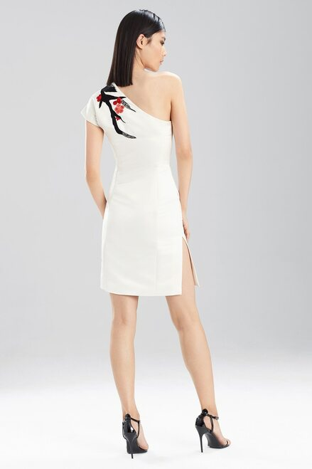 Duchess Satin One Shoulder Dress at The Natori Company