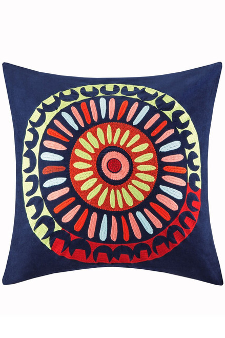 Josie Hollywood Boho Square Pillow at The Natori Company