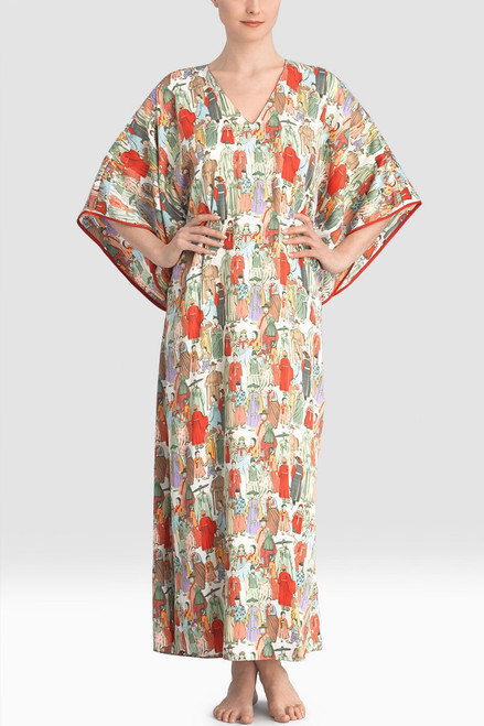 Buy Natori Dynasty V-Neck Caftan from
