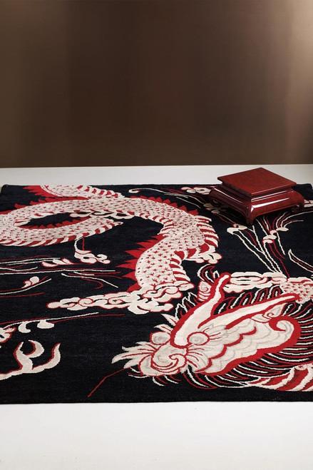 Natori Dynasty- Iconic Dragon Rug at The Natori Company