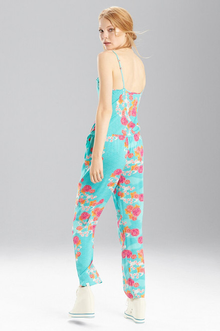 Posy Clouds Jumpsuit at The Natori Company