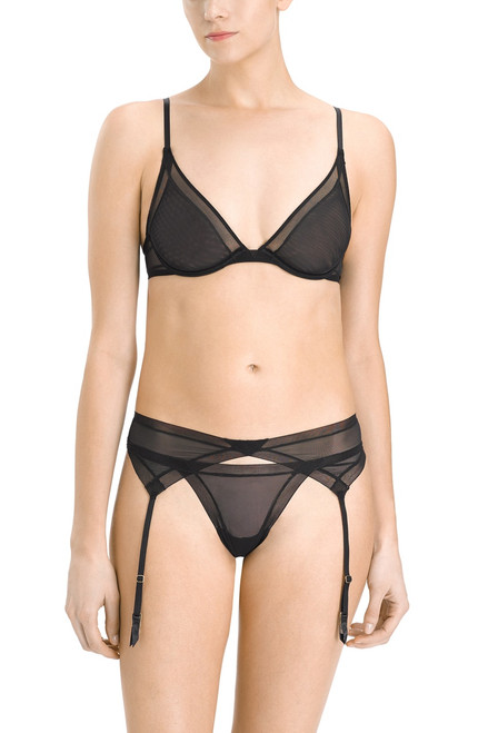 Josie Natori Escape Garter Belt at The Natori Company