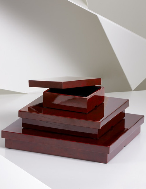 Buy Lacquer Square Box from