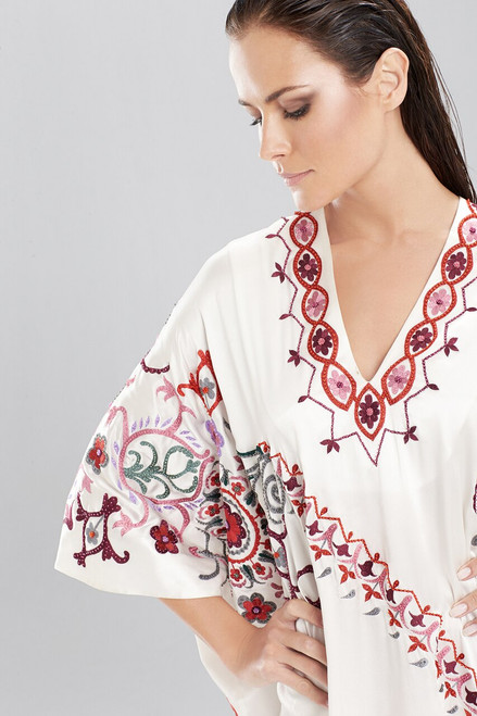 Josie Natori Couture Kaya Caftan at The Natori Company