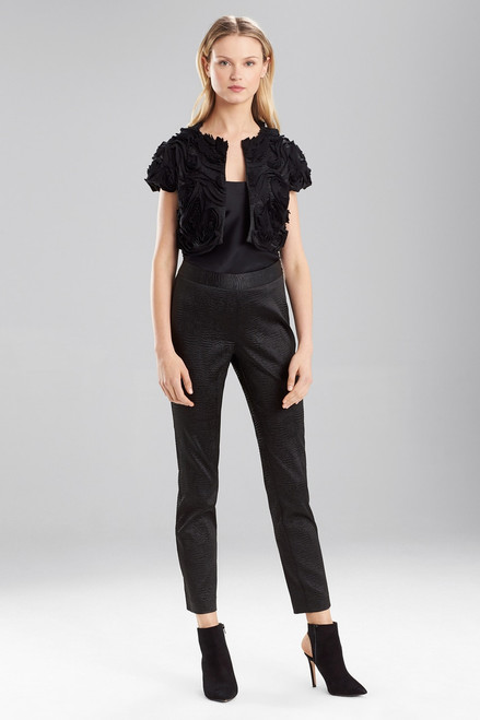 Black Chintz Bolero at The Natori Company