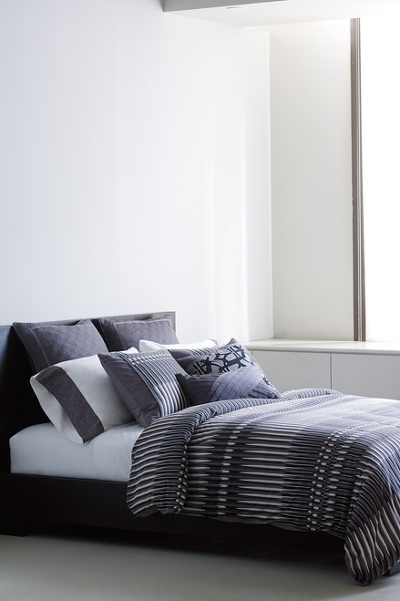 N Natori Abstract Stripe Comforter Set at The Natori Company