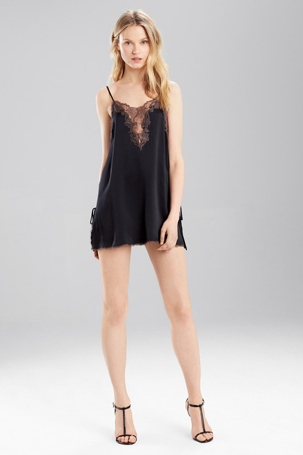 Josie Natori Lolita Side Slit Chemise at The Natori Company