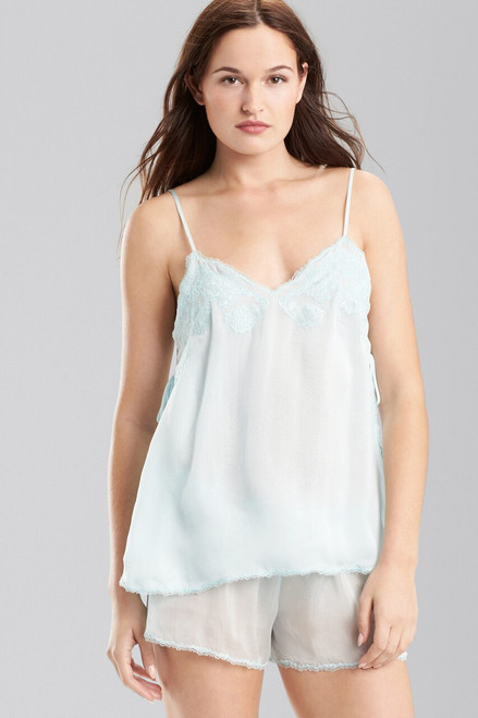 Josie Natori Sheer Bliss Solid Tank at The Natori Company