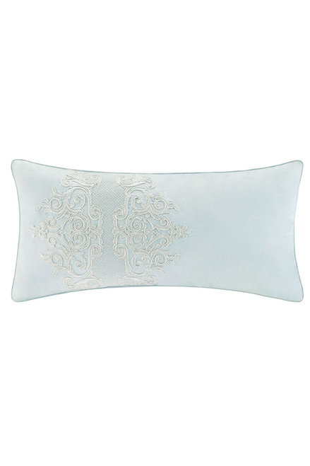 Buy Mantones De Manila Oblong Embroidered Pillow from