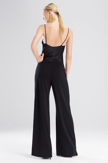 Matte Jersey Wide Leg Pants at The Natori Company