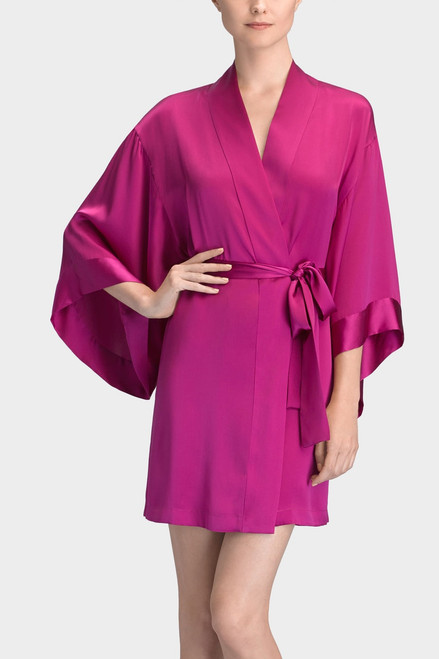 Josie Natori Key Kimono Wrap at The Natori Company