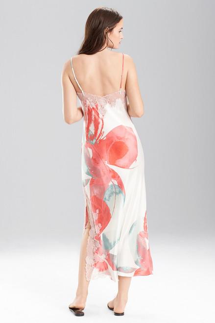 Josie Natori Hibiscus Gown at The Natori Company