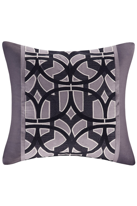 Buy N Natori Abstract Stripe Square Pillow from