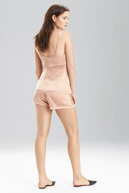 Josie Natori Stretch Silk Charmeuse Cami at The Natori Company