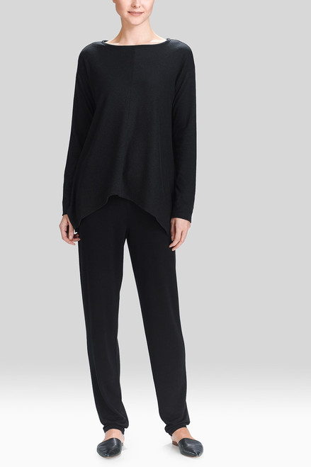 Natori Lounge Long Sleeve Top at The Natori Company