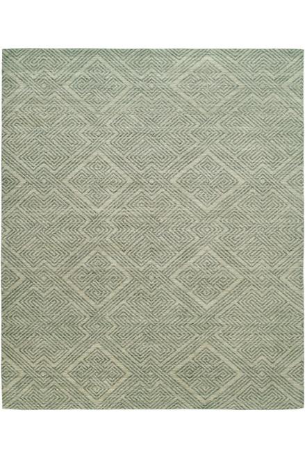 Buy Natori Shangri-La- Interlock Green Tones Rug from
