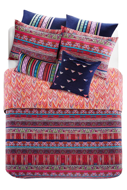 Josie Katina Square Pillow at The Natori Company