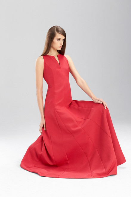 Italian Texture Sleeveless Dress at The Natori Company