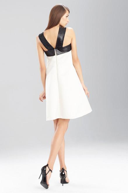 Duchess Satin Obi Mini Dress at The Natori Company