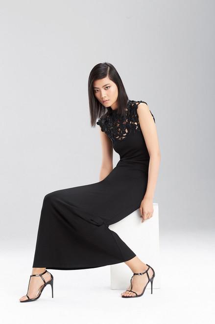 Double Knit Jersey Maxi Dress at The Natori Company